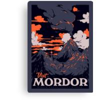 Visit Mordor Canvas Print