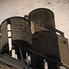 Water Towers by lkippenbrock