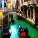 Venice I Wish by bev langby