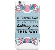 FOUR Night Changes iPhone Case/Skin
