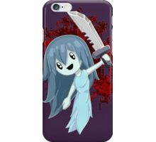 Spooky Holding Knife Bloody iPhone Case/Skin