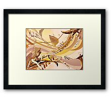 LOOKING FOR THE SEPIA Framed Print