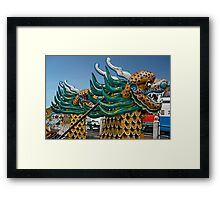 Dragon Boat Framed Print