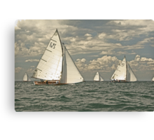 Sail on by Canvas Print
