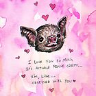 Valentine Bat  by brettisagirl