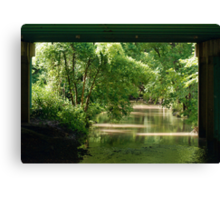 More than trolls under the bridge Canvas Print