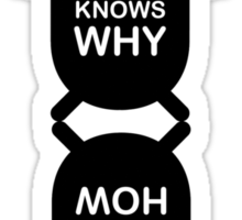 GOD KNOWS WHY / DEVIL KNOWS HOW Sticker