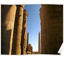 Pillars of history Poster