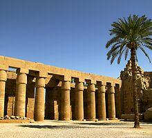 Karnak temple by Mikhail Palinchak