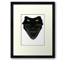 Lord of Darkness - Legend Framed Print