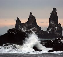Reynisdrangar by Roddy Atkinson