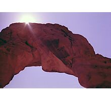 Delicate Arch Abstract Photographic Print