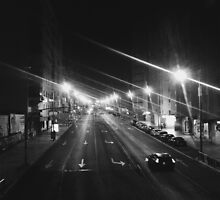 city at night by Ricardo-Goncalo