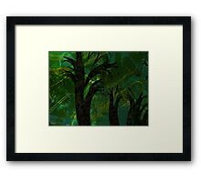 Forest Canopy - high res Framed Print