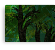 Forest Canopy - high res Canvas Print