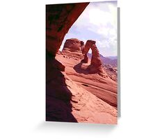 Delicate Arch (2) Greeting Card