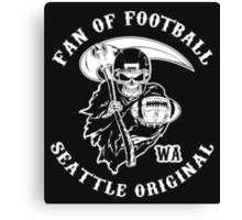 Fan Of Football - Seattle Original Canvas Print