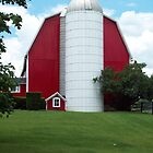 The Big Red Barn  by Michelle BarlondSmith