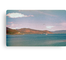 Painterly Lake (3) Canvas Print