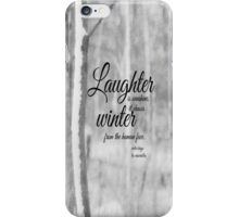 Winter Les Miserables iPhone Case/Skin