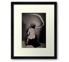 Yet Another Swish is Heard Framed Print