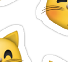 cat emojis Sticker