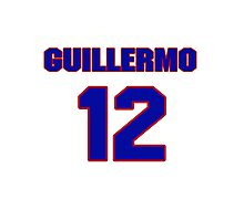 National baseball player Guillermo Quiroz jersey 12 Photographic Print