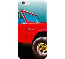 Ford Bronco Classic from VivaChas Hot Rod Art iPhone Case/Skin