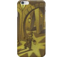 Dr. Caligari finds his T-square iPhone Case/Skin