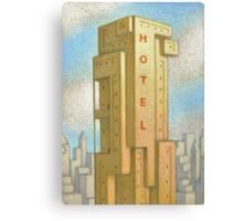 Bauhaus Hotel Canvas Print