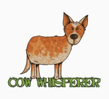 cow whisperer (red heeler) by Corrie Kuipers