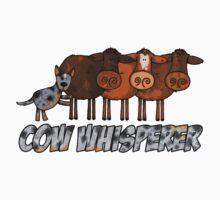 cow whisperer (herding blue heeler) by Corrie Kuipers