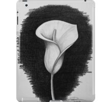 1 Hour Sketch - Lily iPad Case/Skin