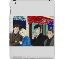 WhoLock On Baker Street iPad Case/Skin
