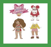 Bee and puppycat dress up paper doll Kids Clothes