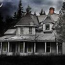 Spooky Abandoned House by Kimberly Palmer