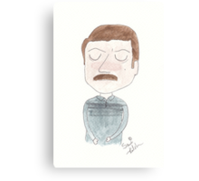 Parks and Recreation - Ron Swanson Canvas Print