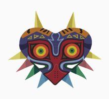 Colourful Majoras Mask Kids Clothes