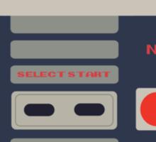 Nes Controller Print! Sticker
