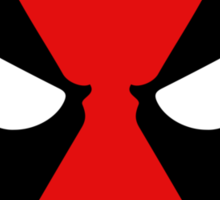 Hero Circles - Deadpool Sticker