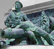 Mariners Memorial, Cartagena, Spain by Squealia