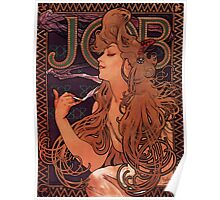 'Job' by Alphonse Mucha (Reproduction) Poster