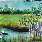 South Carolina Marsh by Jim Phillips