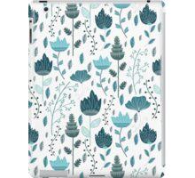 Frozen Flowers Pattern iPad Case/Skin