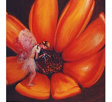 Flower Fairy Photographic Print