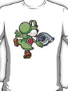Yoshi throwing turbo T-Shirt