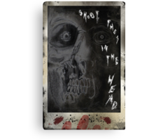 SHOOT THEM IN THE HEAD Canvas Print