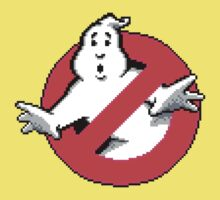 Ghostbusters - pixel art Kids Clothes