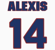 National baseball player Alexis Infante jersey 14 by imsport