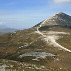Croagh Patrick mountain by John Quinn